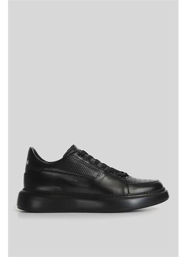 Lufian Perfetto Deri Casual Ayakkabı  Siyah